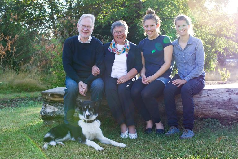 Familienshooting mit Hund in Leipzig